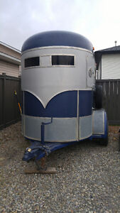 2 horse bumper pull trailer REDUCED FOR QUICK SALE