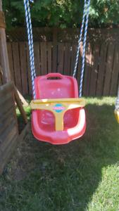 Chaise pour balancoire pour enfant