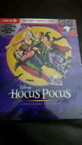 Nightmare before Christmas and Hocus Pocus Target Blu-ray 25th