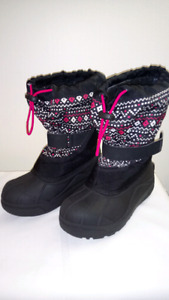 Girls Columbia Winter Boots Size 2 Youth