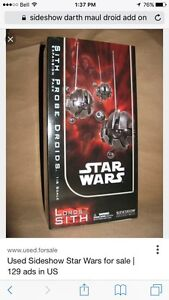 Sideshow Sith Probe droids 1/6 action figure add on