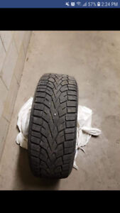 Winter tires 205 60 r16 good condition *4