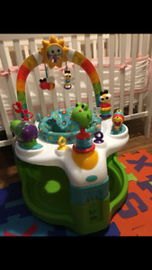 Bright starts 2 in 1 exersaucer