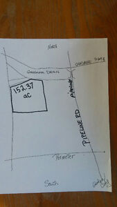 152.37 acres of Land...WEST ST. PAUL, MB   5 MIN TO  PERIMETER!