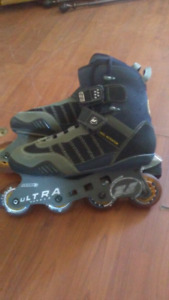 Patin rous aligner ultra wheels grandeur 9 us 25$