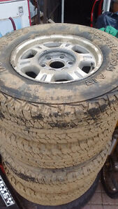 4 tires- 245 7 5  R16 for sale