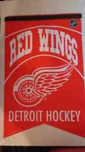 Detroit Red Wings large felt banner