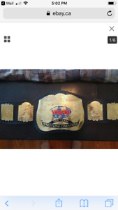 Wwf wwe tag team belts warrior savage undertaker hogan flair