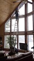 Lavage de vitres résidentiel - PMG Maintenance