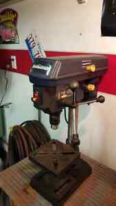 Portable Bench Top Drill Press Hardly Used in New Condition