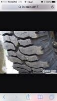 Looking to trade tires, interco m16