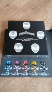 Power Rangers - limited edition 5 pack figures