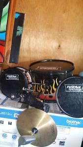 Kids flame drums