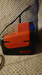 18 volts Jobmate battery and charger