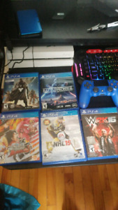 Ps4 games and remote