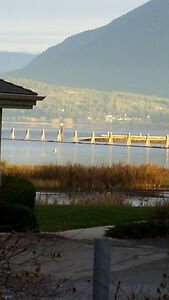 Detached townhouse with view of Shuswap Lake