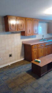 Kitchen cabinet .. counter...faucet for sale $800 Cambridge Kitchener Area image 2
