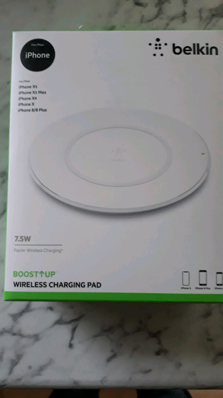 Belkin  Wireless charging pad | in Livingston, West Lothian | Gumtree