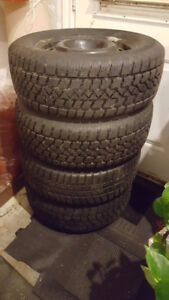 Winter Tires (Used) - 235/60/R16