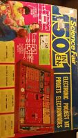 Vintage 1976 150 in 1 Electronic Project Science Kit