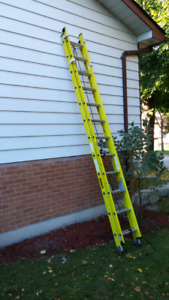 24ft featherlite ladder hardly used