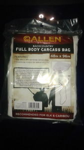 Allen Back Country Full Body Cloth Game Bag