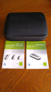 Phonak PilotOne Hearing Aids Barely Used