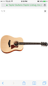 Taylor Big Baby Acoustic Trade for Equivalent Electric