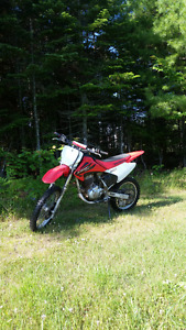 Honda crf 150 dirtbike in great shape ready to ride