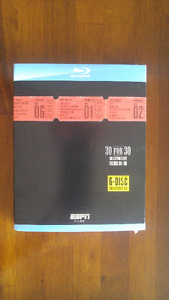ESPN 30 for 30 DVD set - Blue Ray - Brand New!