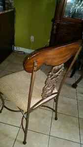 Antique set of 4 chairs London Ontario image 3