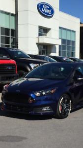 Ford Focus ST 2016 incluant 4 mags + pneus d'hiver !!