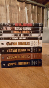 WWE royal rumble collection