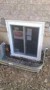 side doors cutting and installation, enlarge basement windows