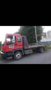 Towing plateforme