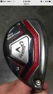 Callaway Big Bertha 3 Hybrid RH Stiff Shaft
