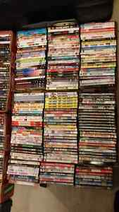 Over 400 DVDs (Blu-Rays in other ads)