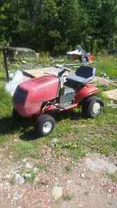 2 ride on lawn mowers for parts or repair for sale