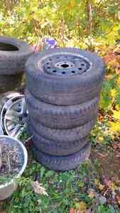 5 rims  bolt pattern 4x100