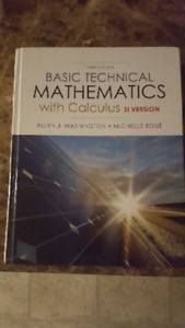 Basic mathematics with calculus 10th edition