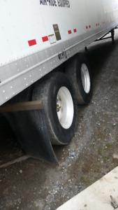 53 foot dry vans heaters