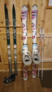 Skis,boots & poles