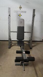 Bench press et squat