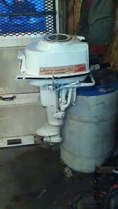 Johnson 10hp outboard motor fully serviced ready to go