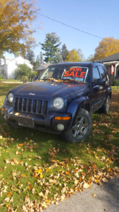 2004 JEEP LIBERTY AS IS