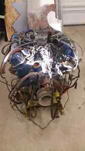 Ford fe engine and Transmission