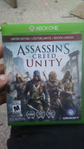 Assasins creed unity. Never played.