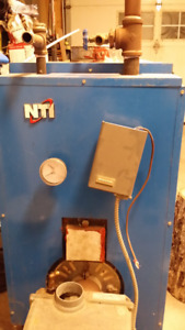 Riello Oil Fired Hot Water Furnace
