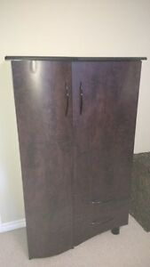 Armoire & 2 side tables