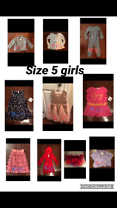 Girls clothes lot size 5